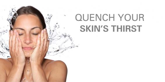 QUENCH YOUR SKIN'S THIRST